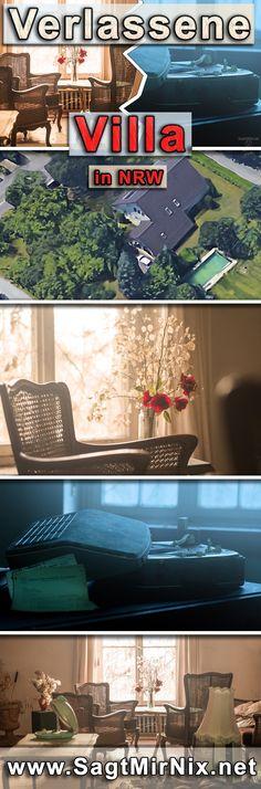 Lost Place: Verlassene Villa in NRW - ehemals wohnte ein wohlhabender Stahlwerksdirektor von Krupp in der alten Villa, nun steht sie seit 40 Jahren leer. Die Fotos unserer letzten Urban Exploration- bzw. Urbex-Tour.
