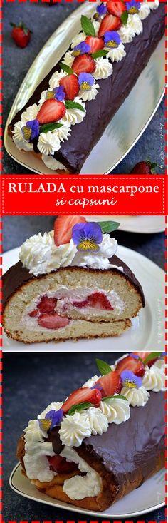Foodies, Deserts, Pie, Sweets, Recipes, Mascarpone, Bakken, Torte, Cake