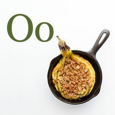 O is for omelet. Tortang talong (eggplant omelet) by Jun Belen
