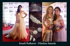 Sonali Kulkarni spotted carrying rusaru clutch at Filmfare Marathi! #clutches #clutchbag #handcrafted #embroidered #handmade #luxe #luxury #detailing #handembroidery #pearls #beaded
