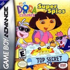 Dora the Explorer Super Spies - Game Boy Advance Game