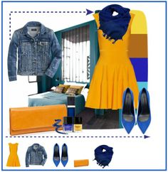 Yellow and blue winter look. El amarillo y su versión más mostaza es perfecto para estas fechas. Combínalo con atrevimiento con el azul tinta: http://eljardindepapa.blogspot.com.es/2014/01/yellow-and-blue-winter-look.html