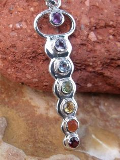 CHAKRA SILVER PENDANT 925 INDIAN SILVER HANDCRAFTED JEWELLERY