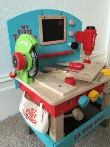 TV448 - My First Tool Bench – Le Toy Van Reviewed on www.lovedbychildren.com