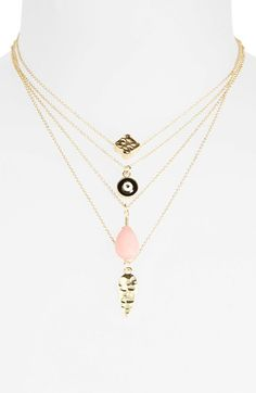 Topshop Charm Necklaces (Set of 4) by: Topshop @Nordstrom