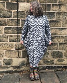 Beginner's guide to sewing with knitted fabrics - Longshaw dress. Watercolour Tutorials, Knitted Fabric, High Neck Dress, Sewing, Knitting, Knits, Fabrics, Collection, Dresses