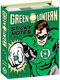 Amazon.com : DC Comics Green Lantern Sticky Notes Booklet : Office Products http://amzn.to/2tMLTW0