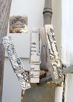 I want to do this to all my clothespins!
