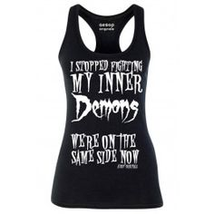 Women's We're On The Same Side Now Tank Top - Black