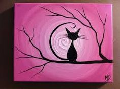 easy painting ideas on canvas with acrylic - Google Search
