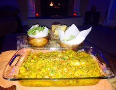Waist Friendly Veggie Garbanzo Bean Dip with a little heat :P