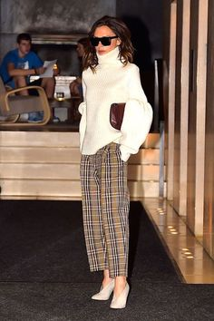 May We Present Lady Victoria Beckham In Waiting (For Her Uber)+#refinery29
