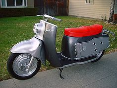 1957 Maicoletta Scooter 174cc Single Cylinder Fan-Cooled 2-Stroke 14bhp engine