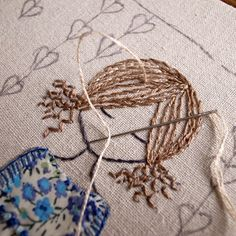 In the garden hand embroidery pattern pdf by LiliPopo on Etsy