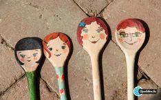 fakanál báb, wooden spoon puppet