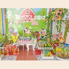 Animalitos de la granja . Farm Animals Birthday Party Ideas | Photo 1 of 18