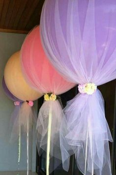 Cool idea for baby shower decor