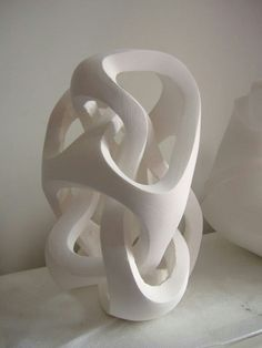 Plaster sculpture, untitled, work in progress, image 2 by Andy Cawthorn