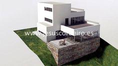Parcela edificable ubicada en Bouzas, con proyecto básico para chalet unifamiliar independiente de diseño moderno.