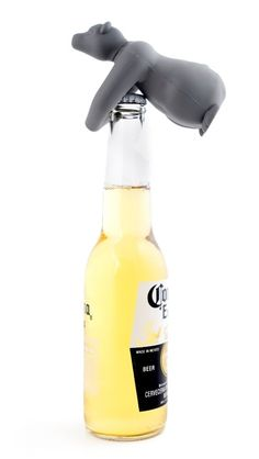 Kikkerland Bear Hug Bottle Opener Bär Flaschenöffner NEU/OVP Flaschen Öffner