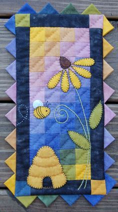 "FREE ""Lulu's Yoyos"" Quilt Pattern by Pie Plate Patterns 