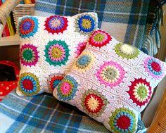 another 'sunburst' cushion | Flickr - Photo Sharing!