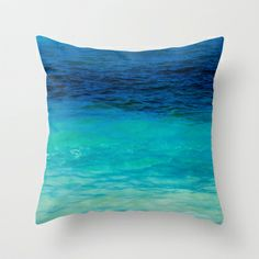 SEA+BEAUTY+Throw+Pillow+by+Catspaws+-+$20.00
