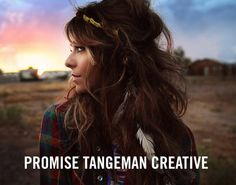 promise tangeman's photography. (if only my bed head looked like that...)