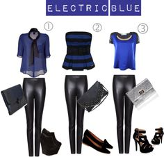 """Electric Blue"" by evelynn-castaneda on Polyvore"
