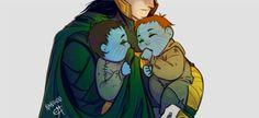 Loki, Váli and Nari