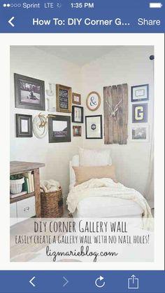 Corner photo gallery