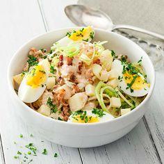 Ruokaisa perunasalaatti - Reseptejä