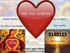 Palavras e números em sintonia com a frequência do amor, do perdão e da gratidão