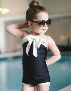 The Cutest Swimsuits for Baby Girls - Babble Albion Fit, Little Girl Fashion, Fashion Kids, Toddler Fashion, Uk Fashion, My Baby Girl, Our Baby, Baby Love, Baby Girls