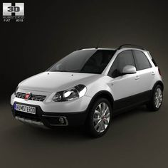 Fiat Sedici 2010 3d model from humster3d.com. Price: $75