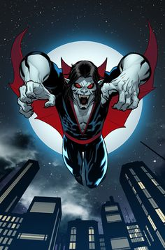 Morbius: The Living Vampire #1 variant cover by Ed McGuinness