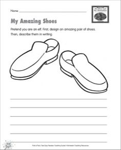 Printable Shoe coloring page from
