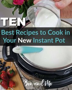 If you're like thousands of other people right now, you may have just bought a new #InstantPot (or perhaps will be getting one for Christmas). Here are the best #recipes to cook first.