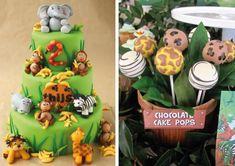 Jungle Theme Parties, Safari Birthday Party, Jungle Party, Safari Theme, 1st Birthday Parties, 2nd Birthday, Party Themes, Party Ideas, Chocolat Cake