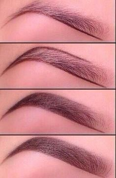 Base maquillage: Le maquillage des sourcils Make-up Augenbrauen & Kopie The post Basis Make-up: Augenbrauen Make-up & fashion appeared first on Maquillage . Perfect Brows, Perfect Makeup, Gorgeous Makeup, Contour Makeup, Eyebrow Makeup, Makeup Eyebrows, Eyebrow Pencil, Prom Makeup, Hd Brows