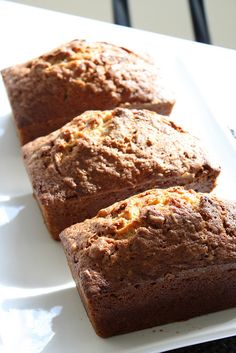 Apple Zucchini Bread Loaves