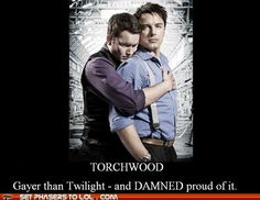 One of the only occasions when 'gayer than Twilight' is a good thing ;)
