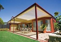 In Australia, having an outdoor living area is essential for entertaining and the right pergola is not only functional but also adds to the aesthetic… Pergola Swing, Pergola With Roof, Patio Roof, Diy Pergola, Pergola Kits, Pergola Ideas, Backyard Ideas, Roof Ideas, Small Pergola