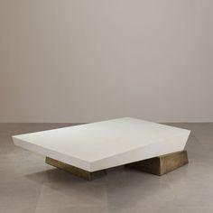 COFFEE TABLES IDEAS   Galerie Van Der Straeten Table basse shif t#cocktailtable #homedecor #bocadolobo #luxuryfurniture #exclusivedesign #interiodesign #designideas #livingroomideas   www.bocadolobo.com