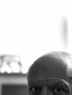 Picasso's eyes, Cannes 1956 -André Villers