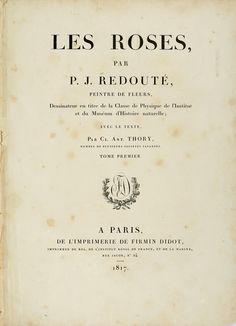 Pierre-Joseph Redouté - Les Roses