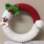Santa Wreath - via @Craftsy
