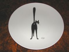 Albert Dubout tableware - everything with cats