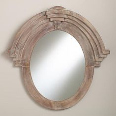 One of my favorite discoveries at WorldMarket.com: Maddox Mansard Mirror