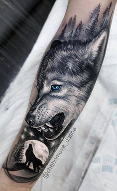 50 Of The Most Beautiful Wolf Tattoo Designs The Internet Has Ever Seen - Tiere. - 50 Of The Most Beautiful Wolf Tattoo Designs The Internet Has Ever Seen – Tiere – # - Wolf Tattoo Forearm, Tribal Wolf Tattoo, Wolf Tattoos Men, Wolf Tattoo Sleeve, King Tattoos, Forearm Tattoo Design, Best Sleeve Tattoos, Tattoo Sleeve Designs, Tattoo Designs Men